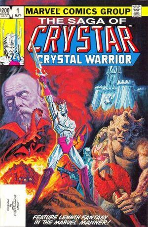 Saga of Crystar, Crystal Warrior Vol 1 1.jpg