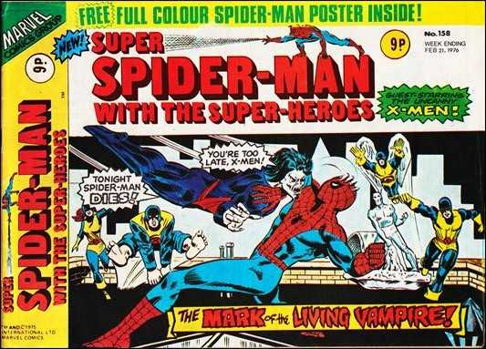 Super Spider-Man with the Super-Heroes Vol 1