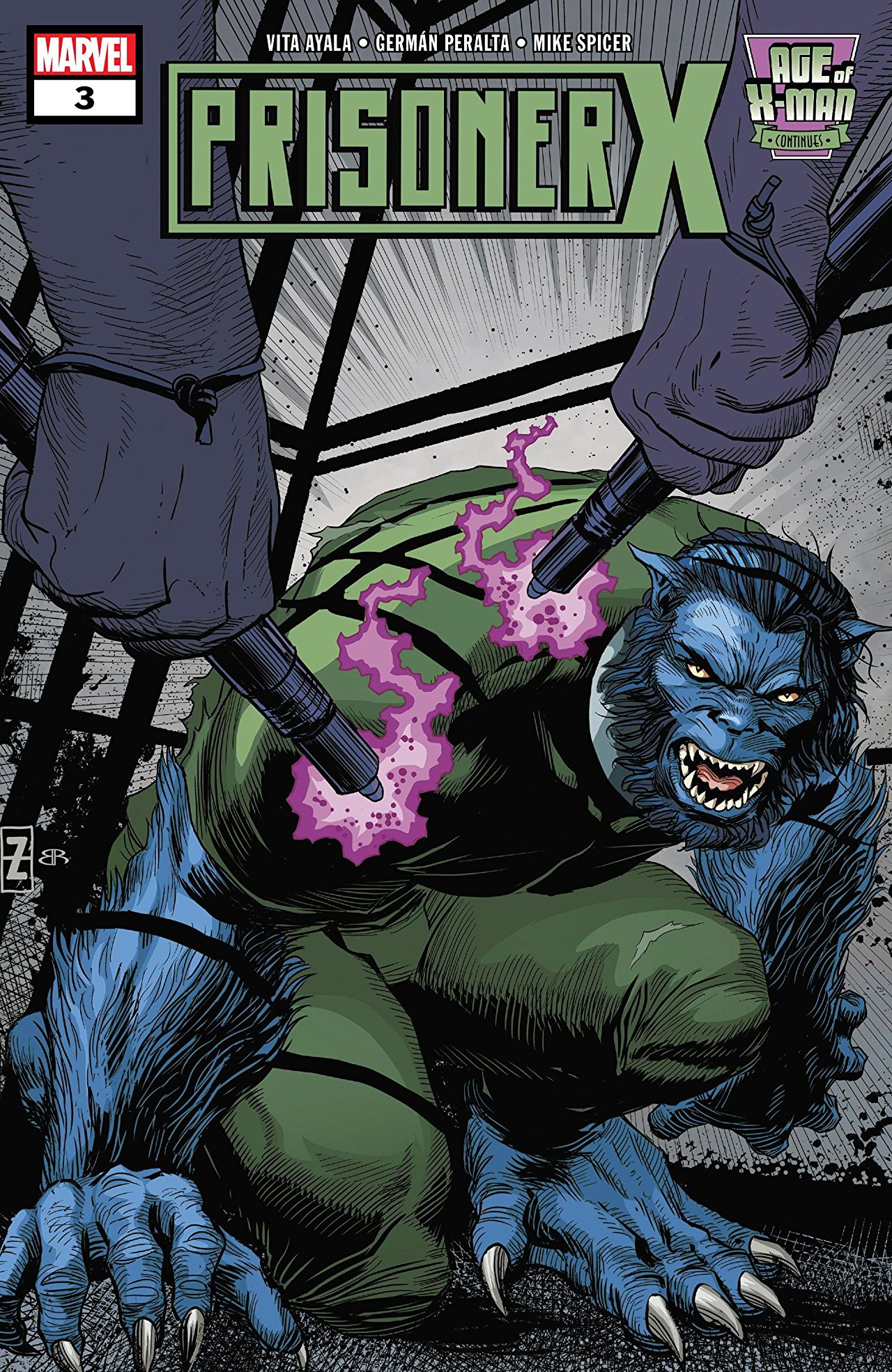 Age of X-Man: Prisoner X Vol 1 3
