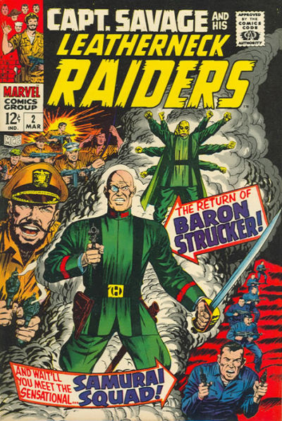 Capt. Savage and his Leatherneck Raiders Vol 1 2