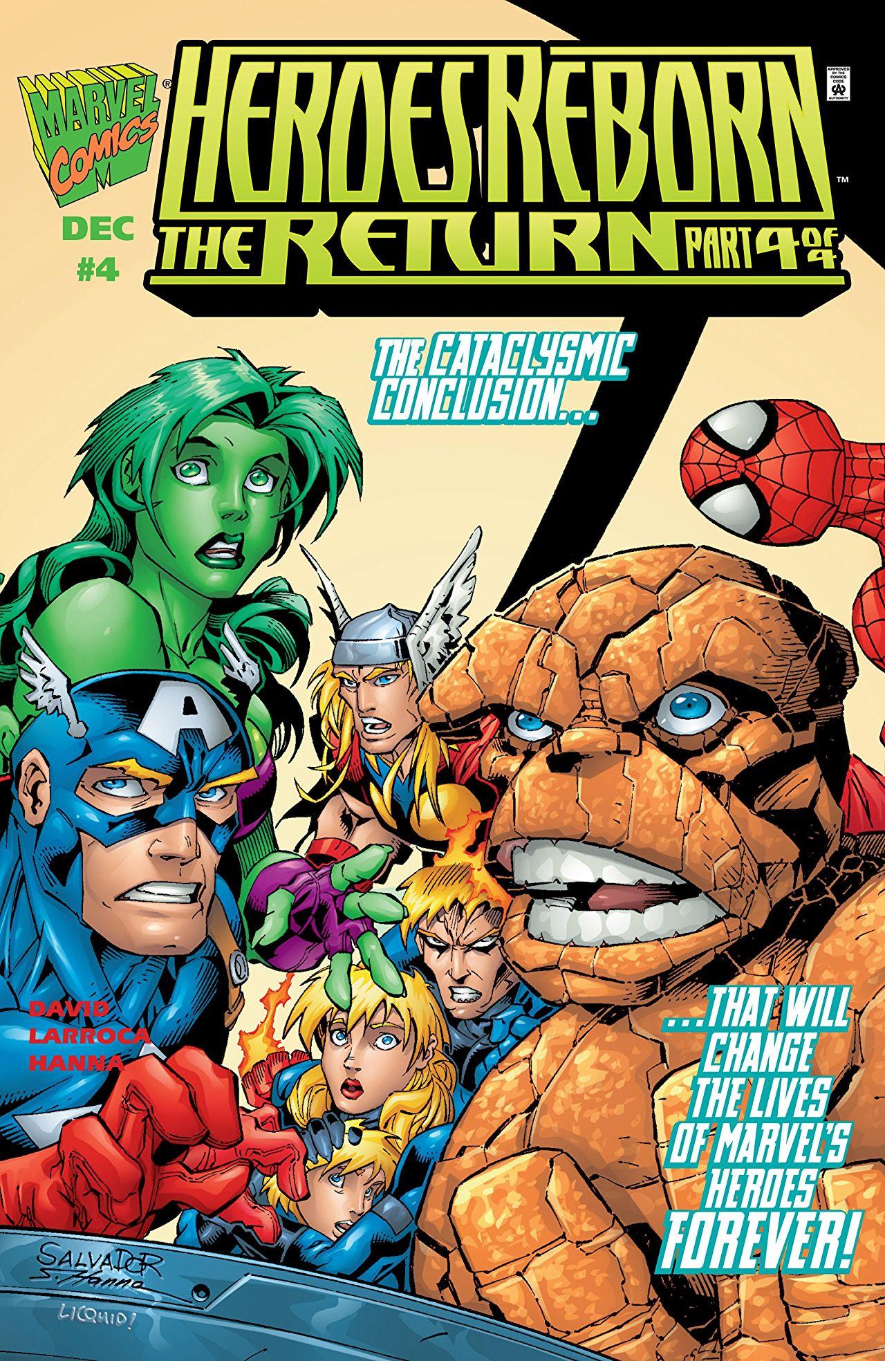 Heroes Reborn: The Return Vol 1 4