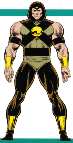 Kyle Brock (Earth-616) from Official Handbook of the Marvel Universe Master Edition Vol 1 19 0001.png