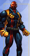 Lucas Bishop (Earth-1191) from Official Handbook of the Marvel Universe X-Men 2004 Vol 1 1 0001