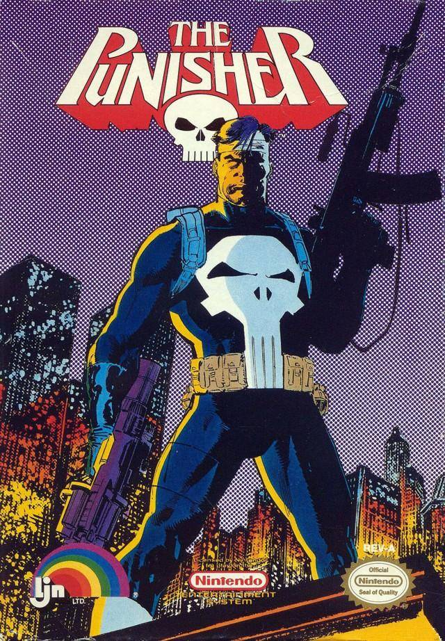 The Punisher (1990 LJN video game)/Gallery