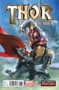 Thor God of Thunder Many Armors of Iron Man Variant