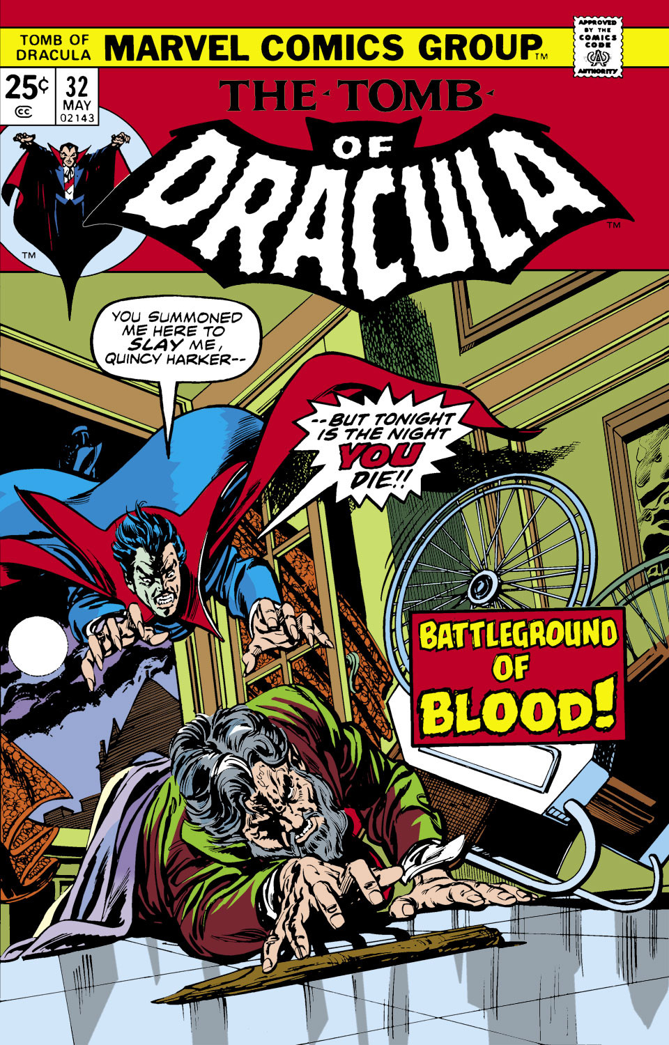 Tomb of Dracula Vol 1 32