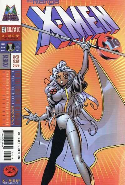 X-Men: The Manga Vol 1 10
