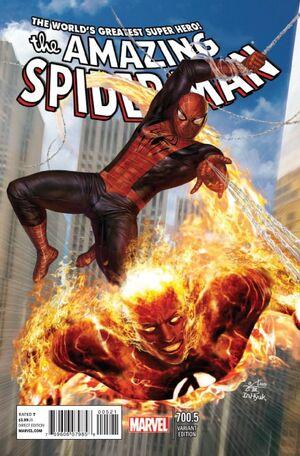 Amazing Spider-Man Vol 1 700.5 In Hyuk Lee Variant.jpg