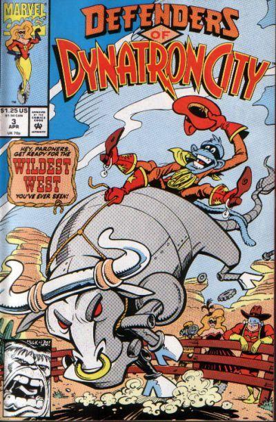 Defenders of Dynatron City Vol 1 3