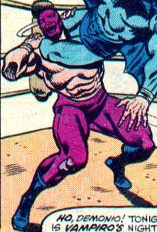 Demonio (Wrestler) (Earth-616)