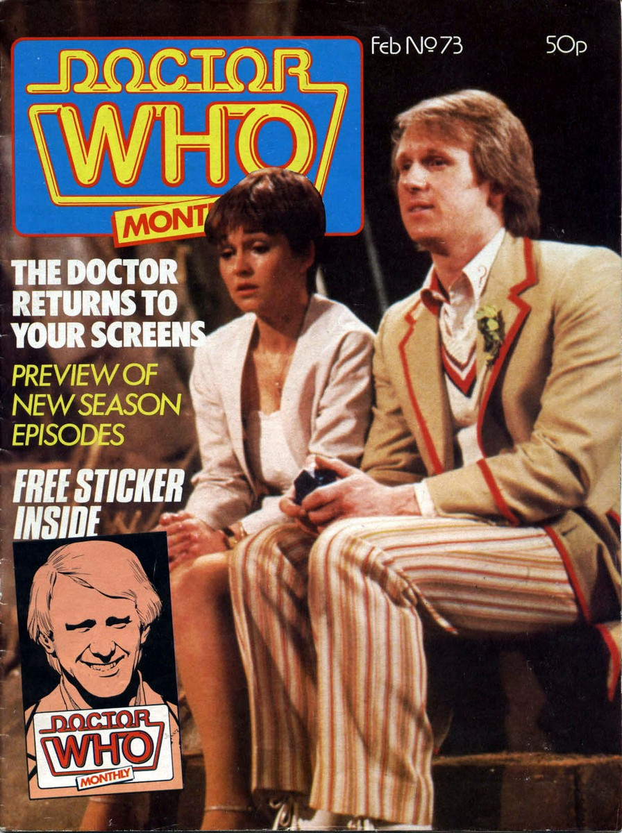 Doctor Who Monthly Vol 1 73