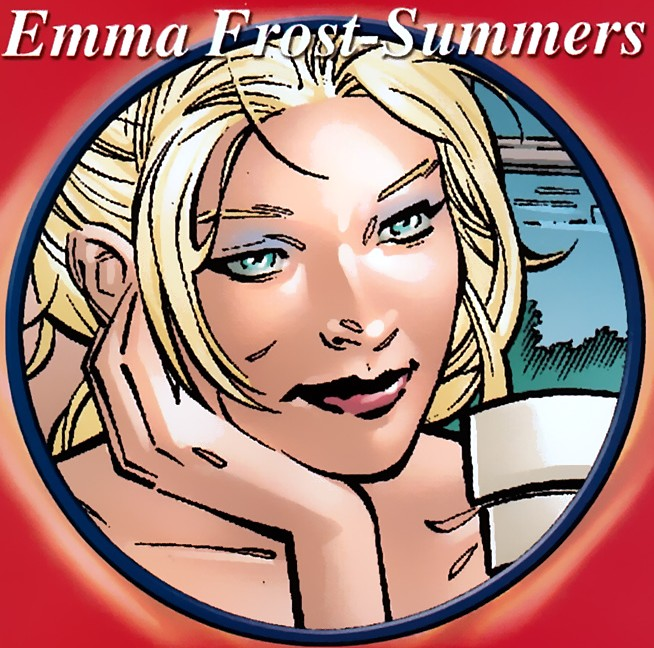 Emma frost (Earth-58163) from Secrets of the House of M Vol 1 1 0001.jpg