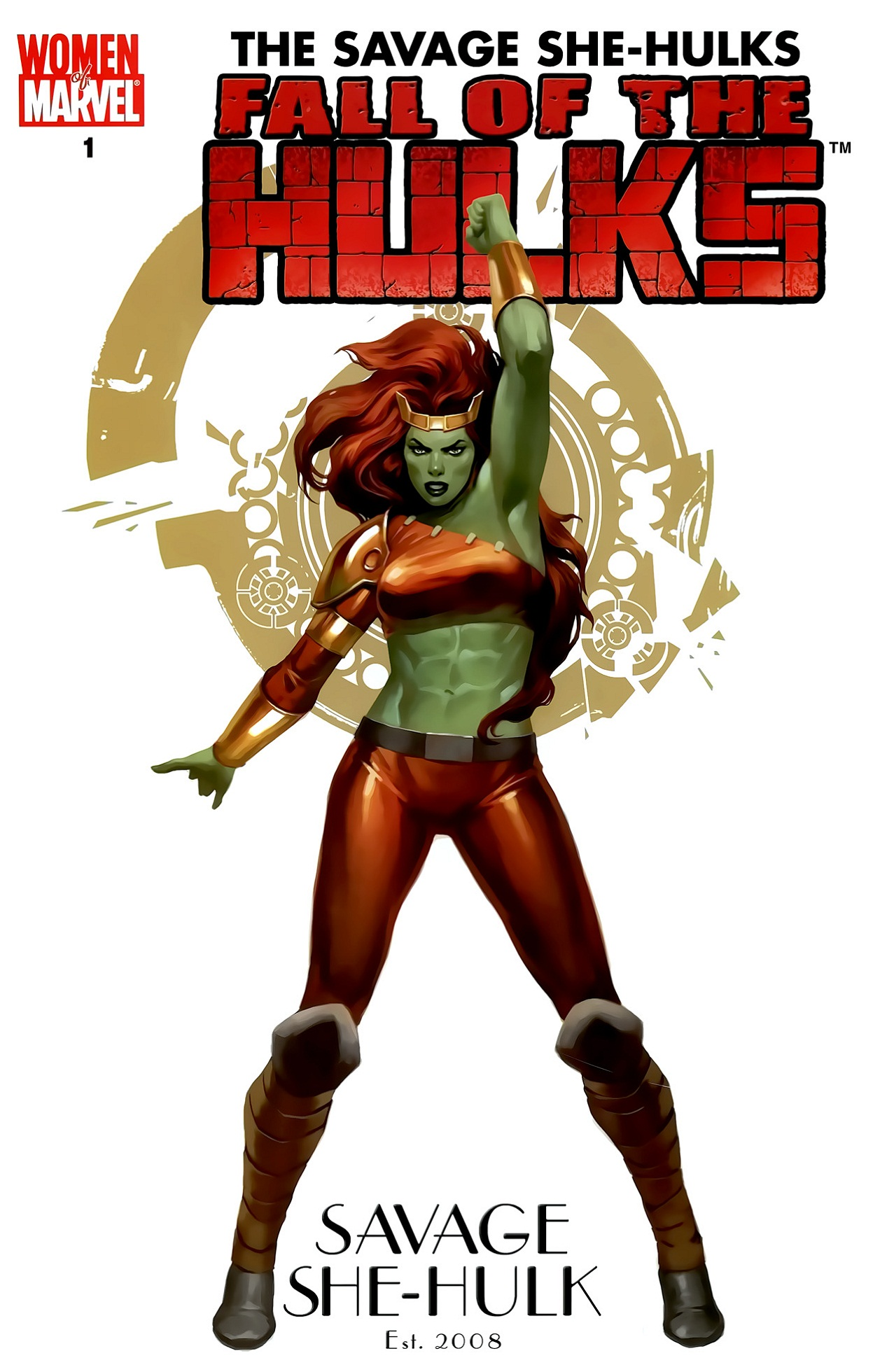 Fall of the Hulks The Savage She-Hulks Vol 1 1 Women of Marvel Variant.jpg