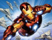 Invincible Iron Man Vol 1 500 Quesada Variant Textless