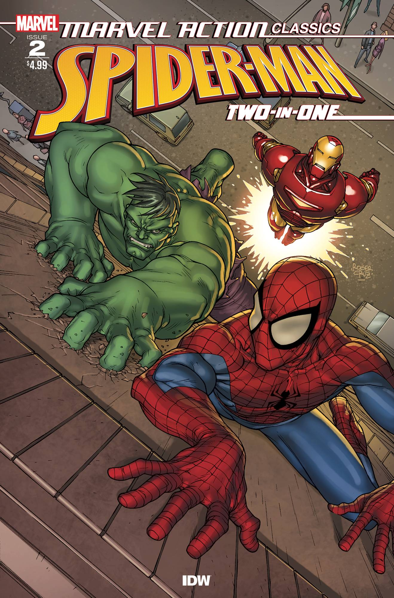 Marvel Action Classics: Spider-Man Two-In-One Vol 1 2