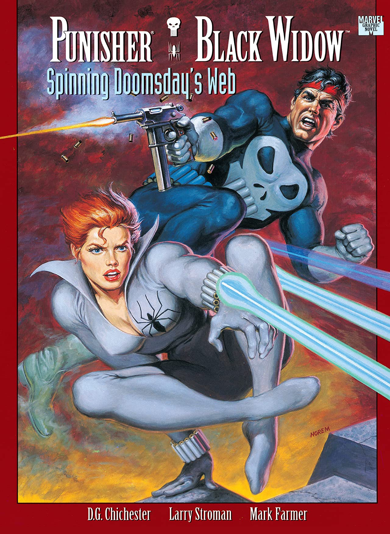 Punisher/Black Widow: Spinning Doomsday's Web Vol 1