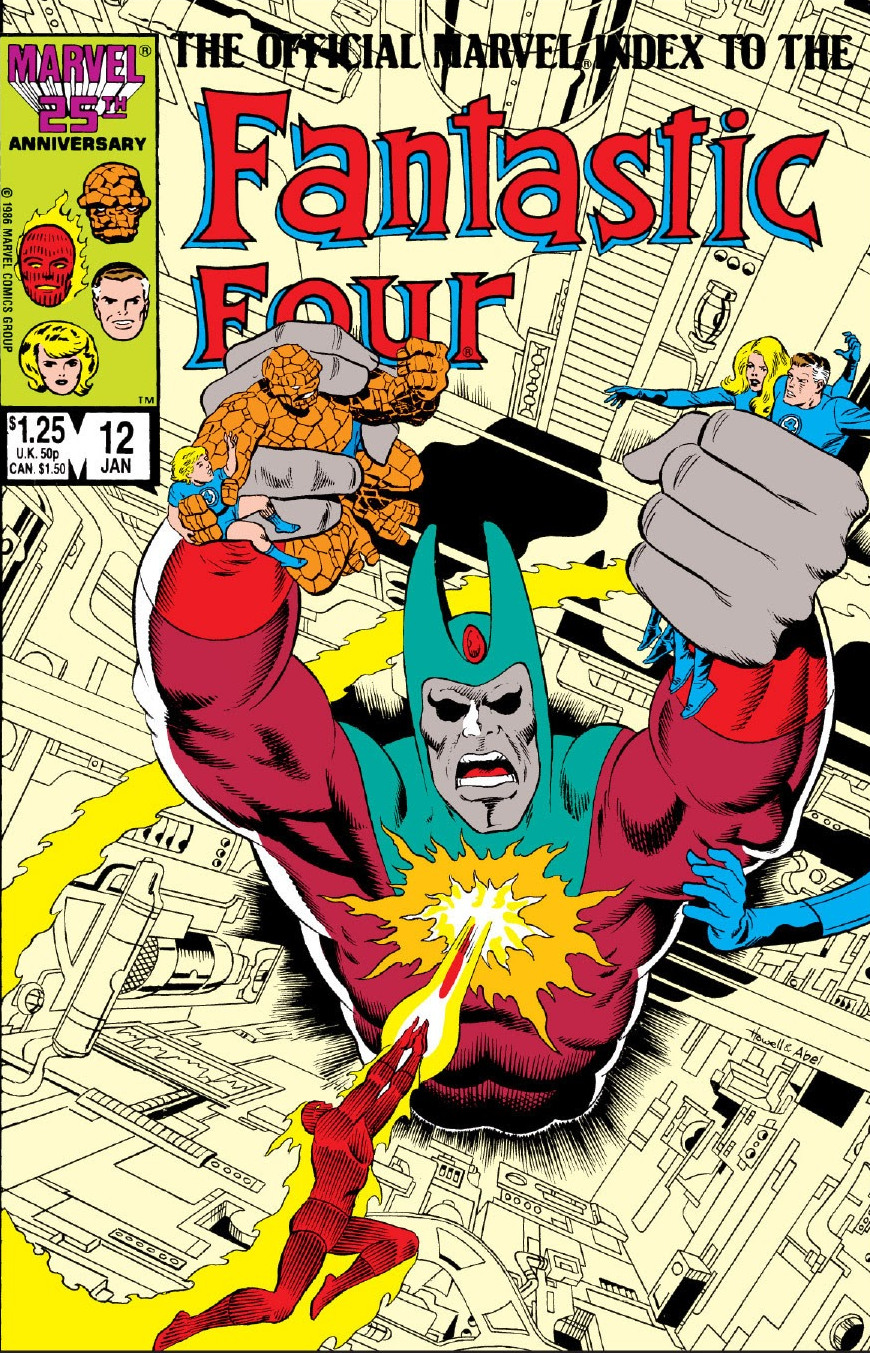 Official Marvel Index to Fantastic Four Vol 1 12