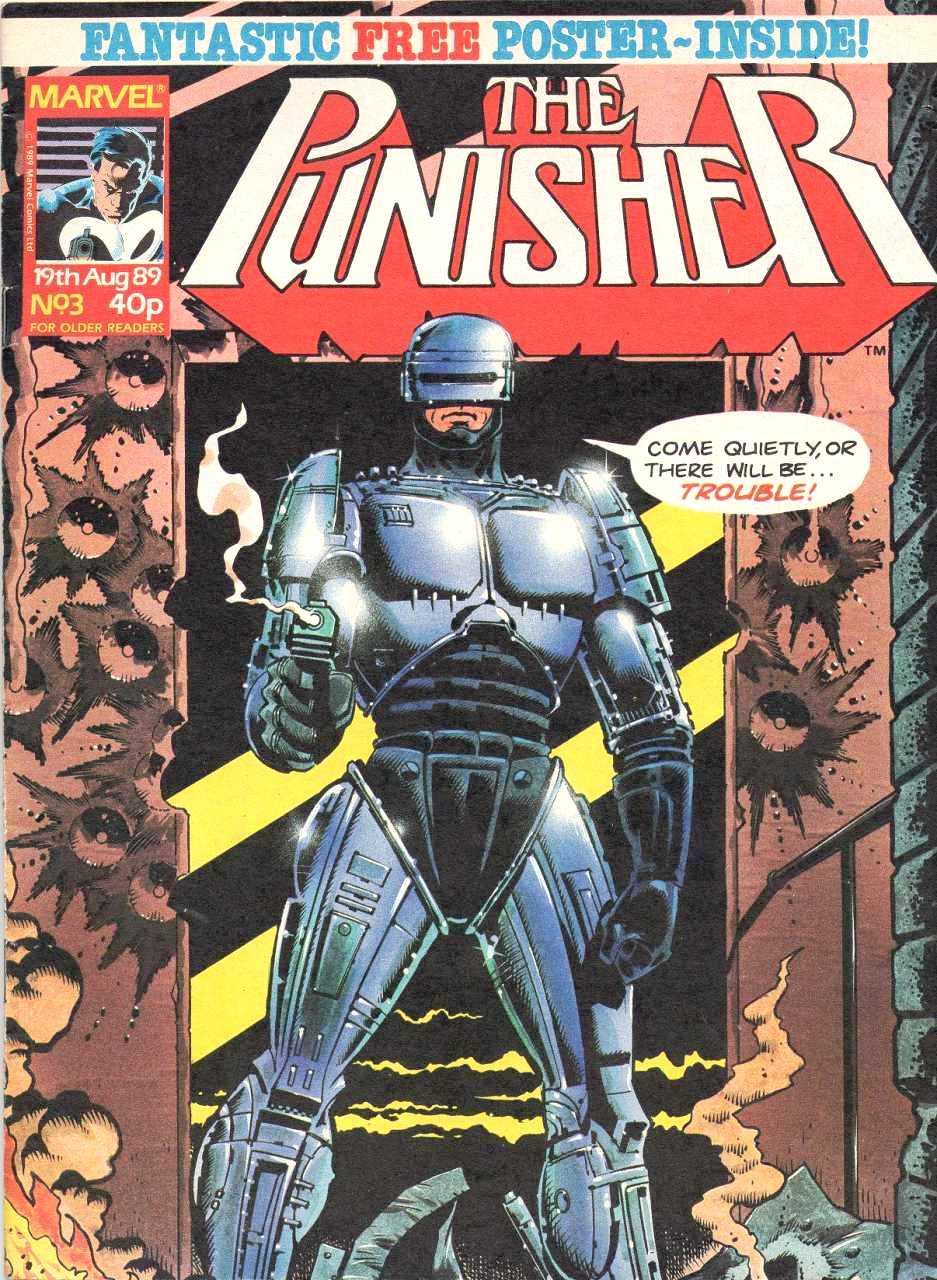 Punisher (UK) Vol 1 3