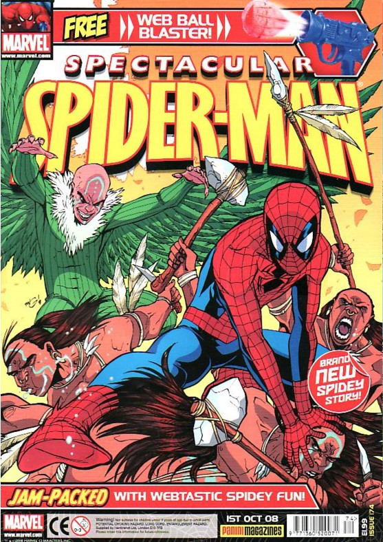 Spectacular Spider-Man (UK) Vol 1 174