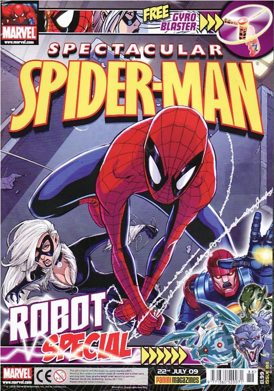 Spectacular Spider-Man (UK) Vol 1 188