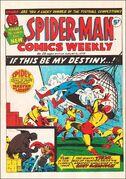 Spider-Man Comics Weekly Vol 1 25