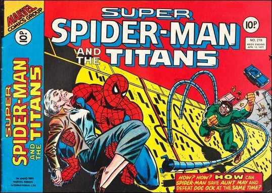 Super Spider-Man and the Titans Vol 1 218
