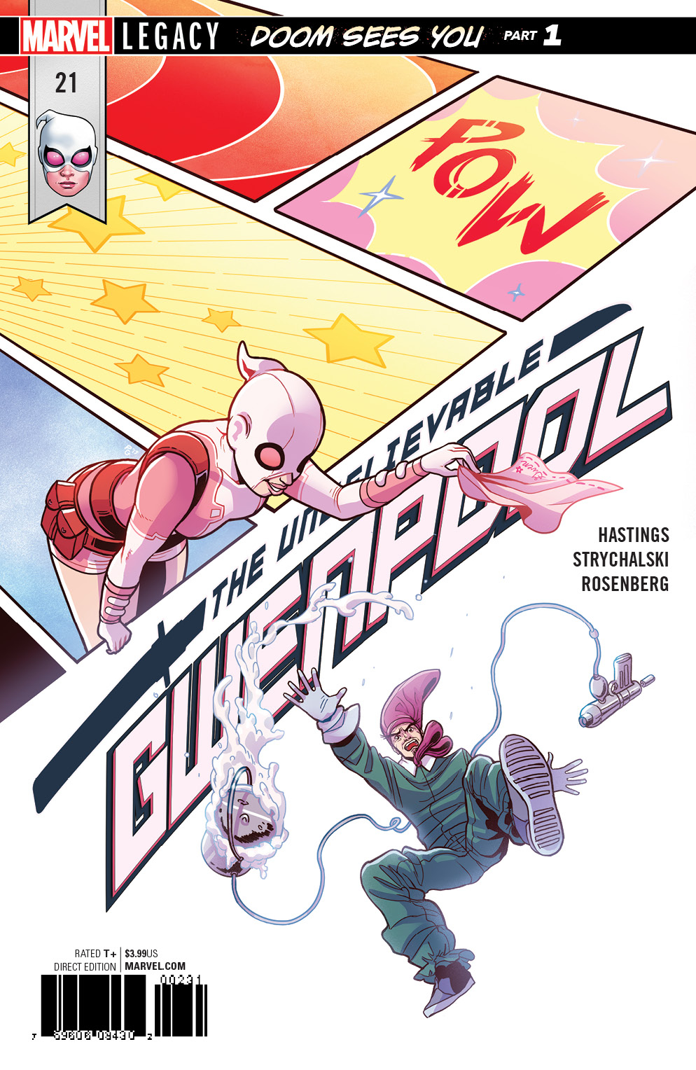 Unbelievable Gwenpool Vol 1 21