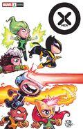X-Men Vol 6 1 Young Variant