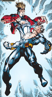 Alexander Summers (Earth-616) and Alexander Summers (Earth-1298) from Mutant X Vol 1 1 001.jpg