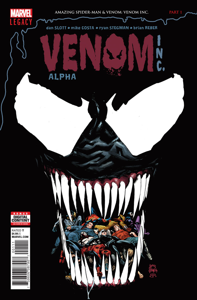 Amazing Spider-Man: Venom Inc. Alpha Vol 1 1