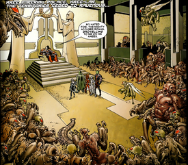 Arthrosians and the United Front from Annihilation Conquest Vol 1 3.png