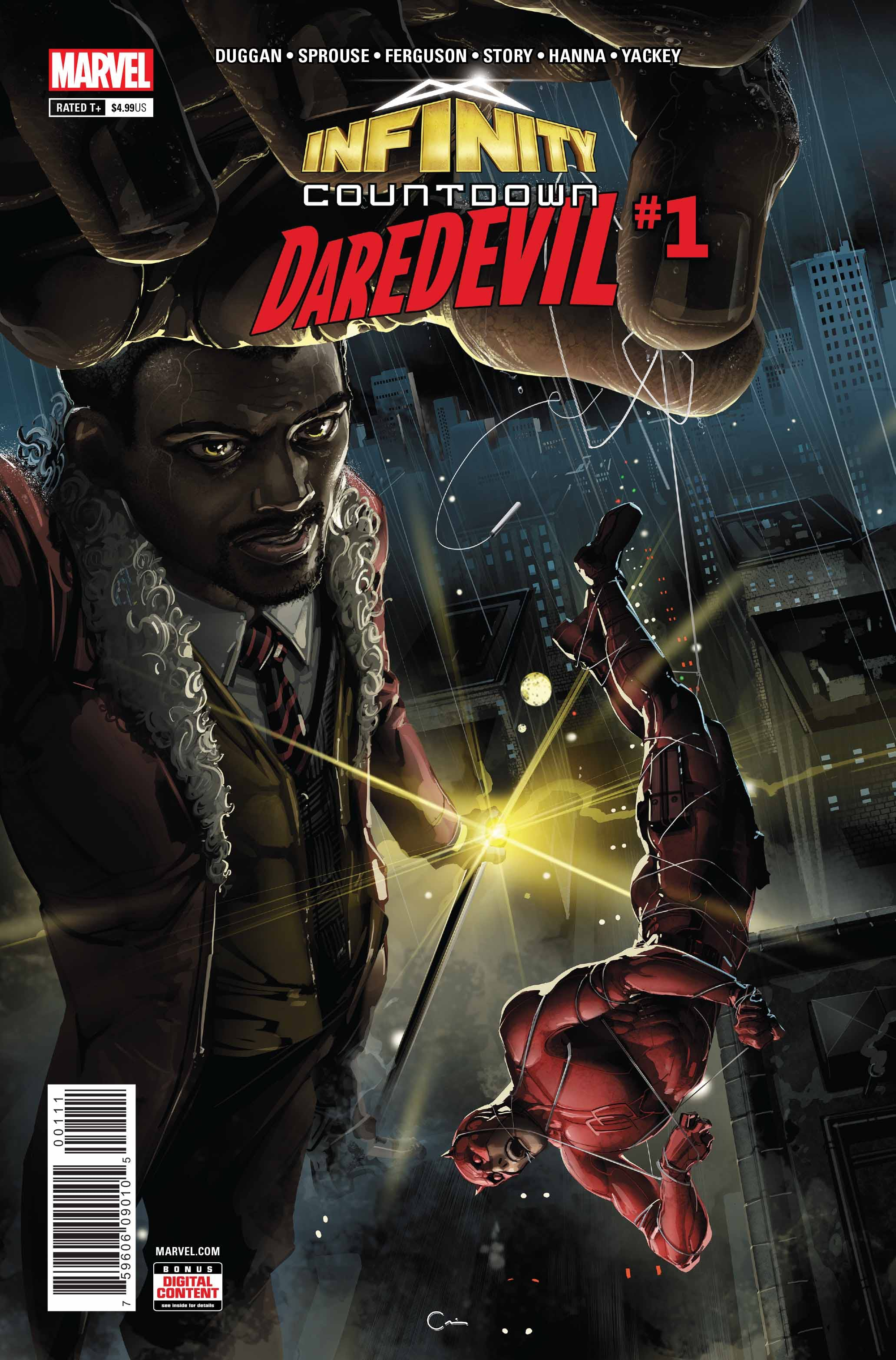 Infinity Countdown: Daredevil Vol 1 1