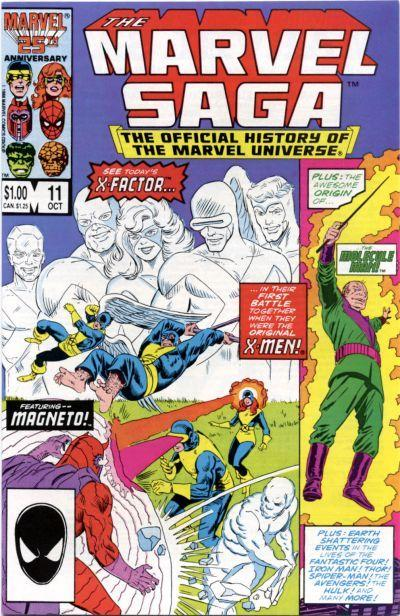 Marvel Saga the Official History of the Marvel Universe Vol 1 11