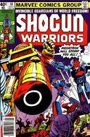 Shogun Warriors Vol 1 18