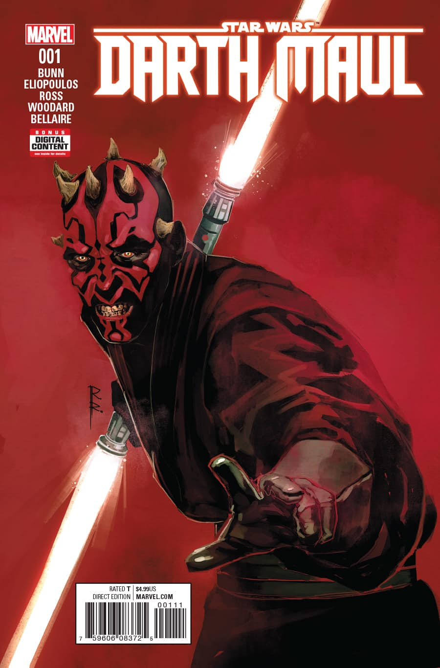 Star Wars: Darth Maul Vol 1 1