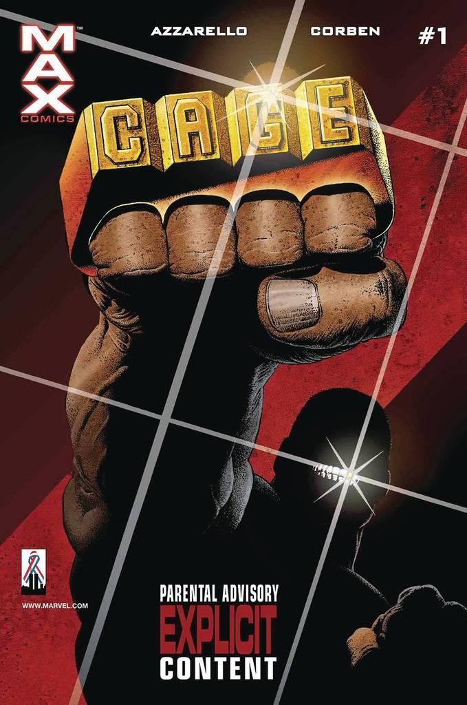 True Believers: Marvel Knights 20th Anniversary - Cage by Azzarello & Corben Vol 1 1
