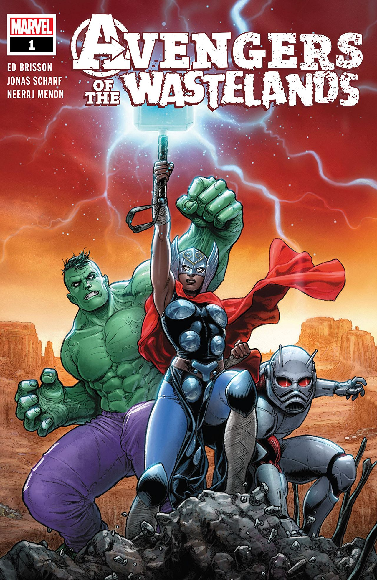 Avengers of the Wastelands Vol 1 1