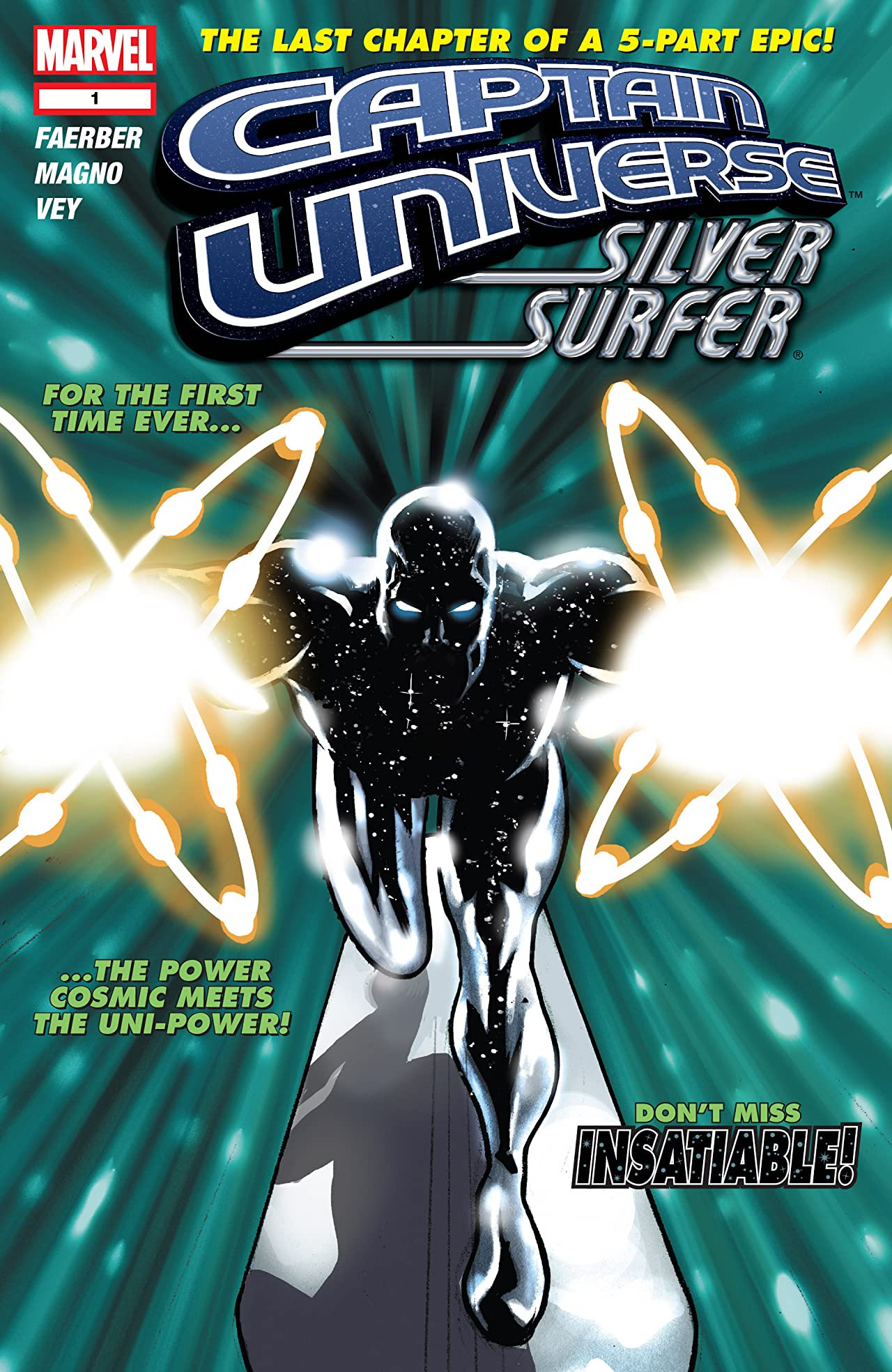 Captain Universe: Silver Surfer Vol 1 1