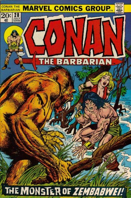 Conan the Barbarian Vol 1 28