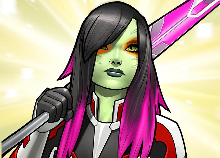 Gamora Zen Whoberi Ben Titan (Earth-TRN562)