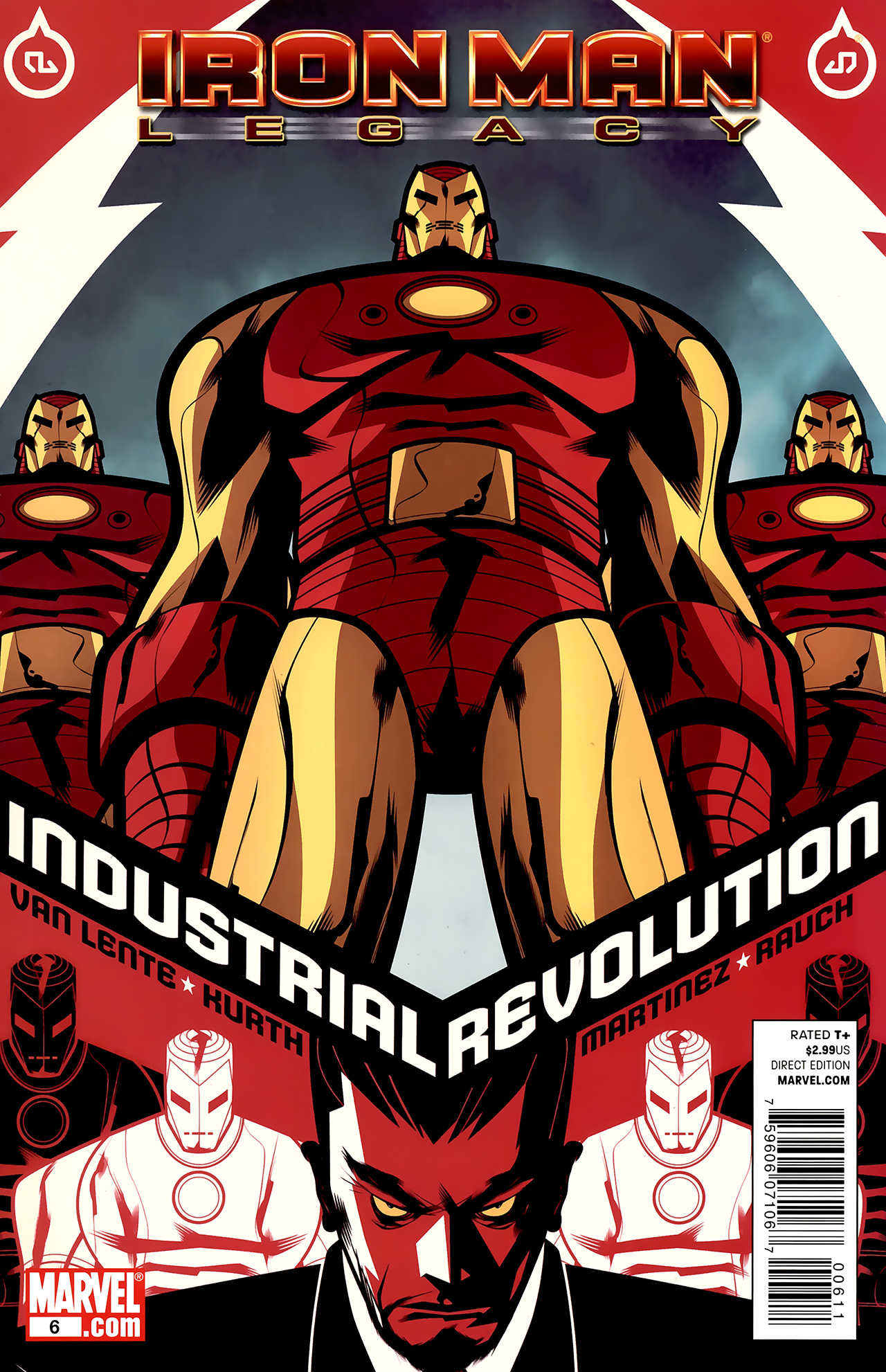 Iron Man: Legacy Vol 1 6