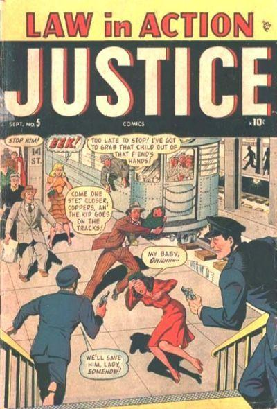 Justice Comics Vol 1 5