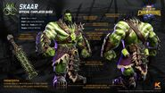 Marvel Realm of Champions War Skaar Official Cosplayer Guide
