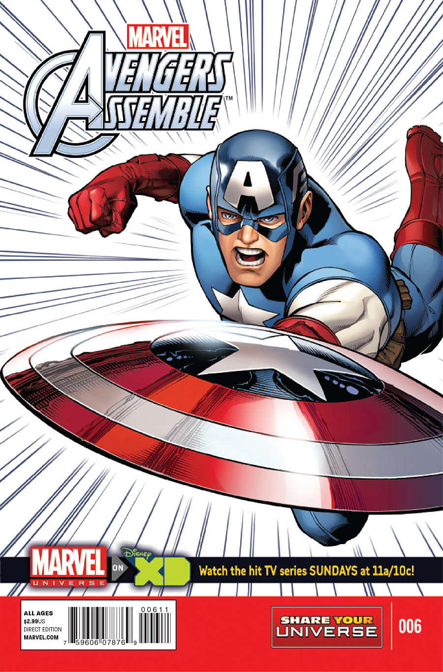 Marvel Universe: Avengers Assemble Vol 1 6
