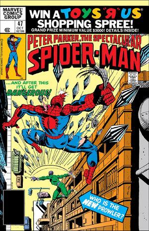 Peter Parker, The Spectacular Spider-Man Vol 1 47.jpg