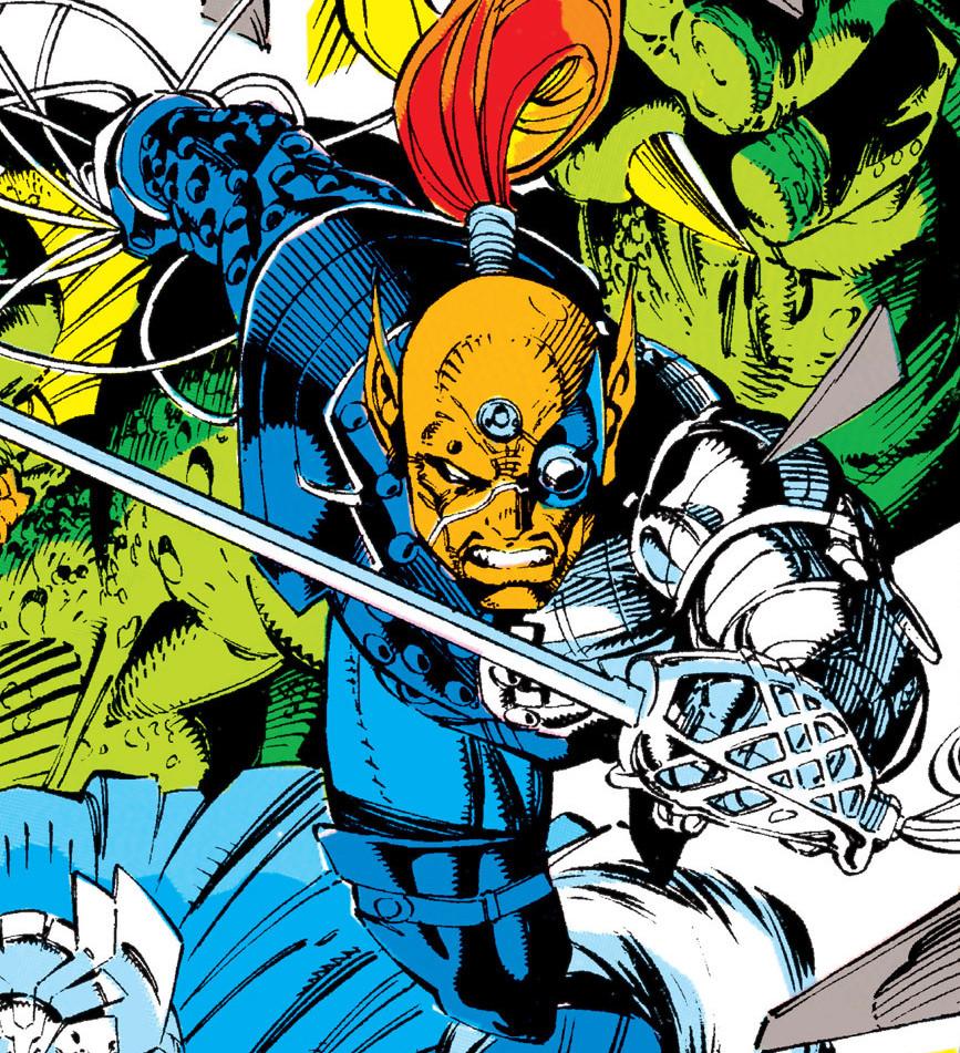 Raza Longknife (War Skrull) (Earth-616)