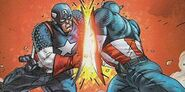 Steven Rogers and Jonathan Walker (Earth-616) from Avengers Vol 3 84 0001