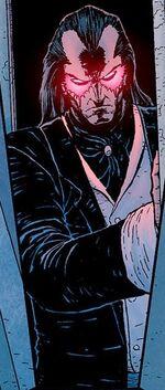 Wilhelm Van Vile (Earth-616) as Morlun in an illusion from Avenging Spider-Man Vol 1 13 001.jpg