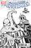 Amazing Spider-Man Vol 3 1 Newbury Comics Black and White Variant