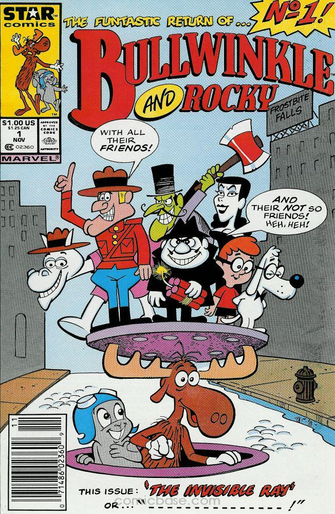 Bullwinkle and Rocky Vol 1 1